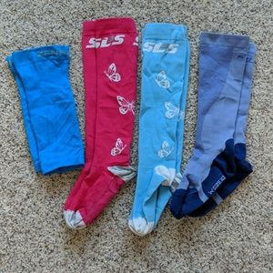 Compression Sock and Calf Sleeves